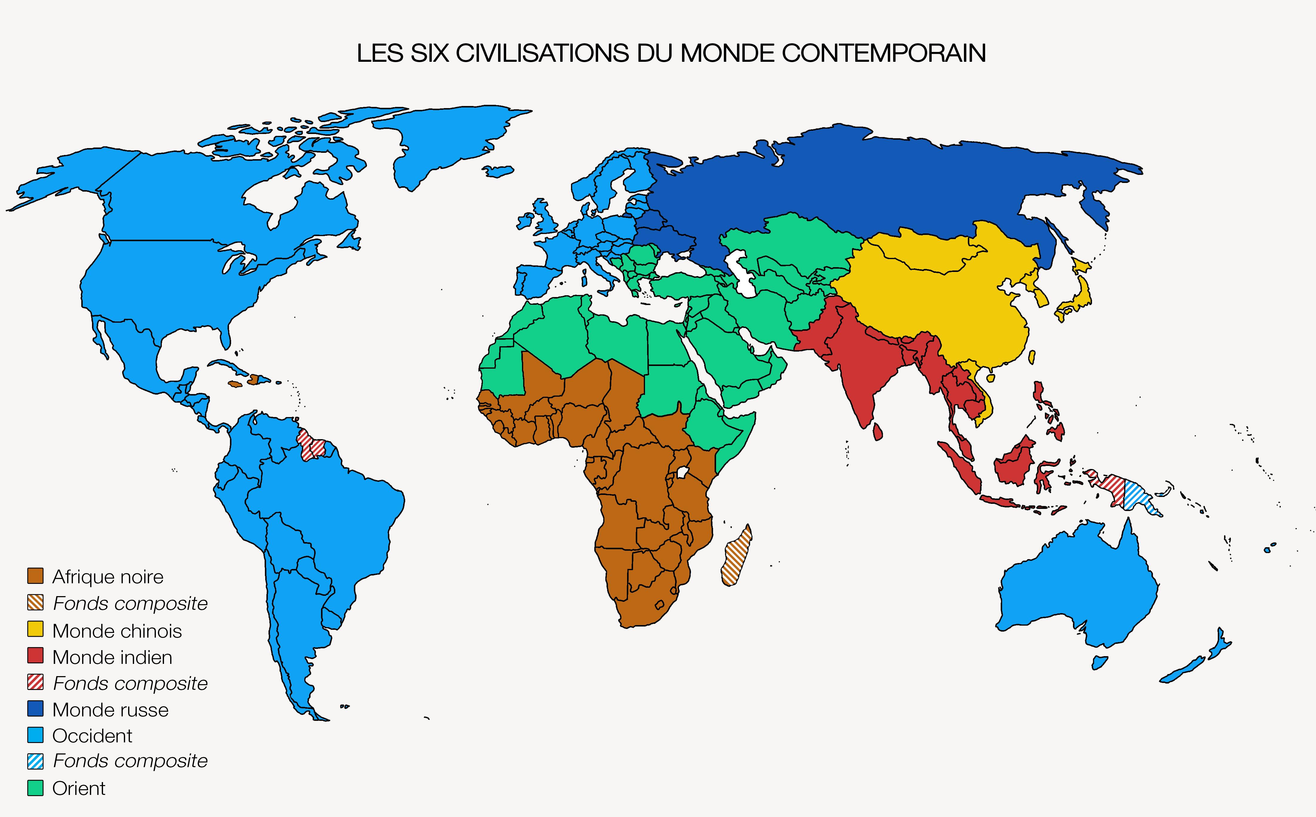 le monde occidental